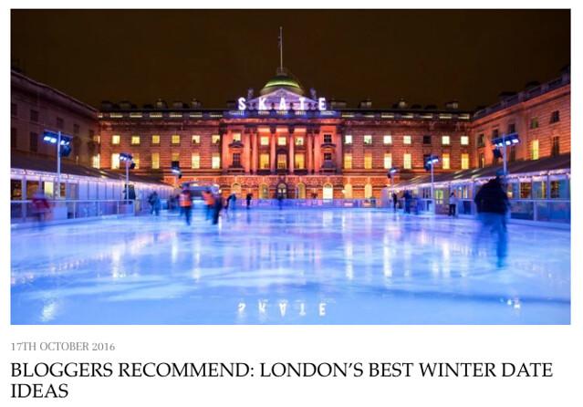 Bloggers Recommend: London's Best Winter Date Ideas