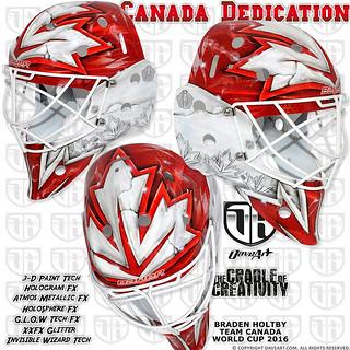 Canada Dedication - Braden Holtby, Team Canada, World Cup 2016