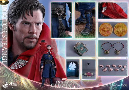 Dr Strange Hot Toy 7