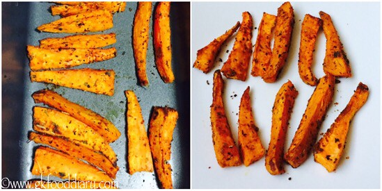 Sweet Potato Wedges Recipe for Toddlers and Kids - step 3