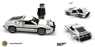 Lotus Esprit S1 - James Bond 'The Spy that Loved Me'