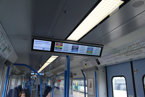TfL Network Status on Thameslink 700104