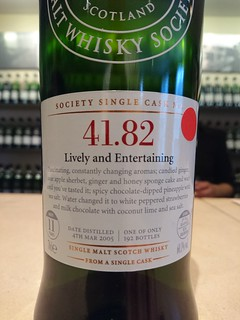 SMWS 41.82 - Lively and Entertaining