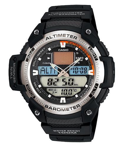 Reloj Casio Outgear Altímetro Termómetro SGW400H-1BV
