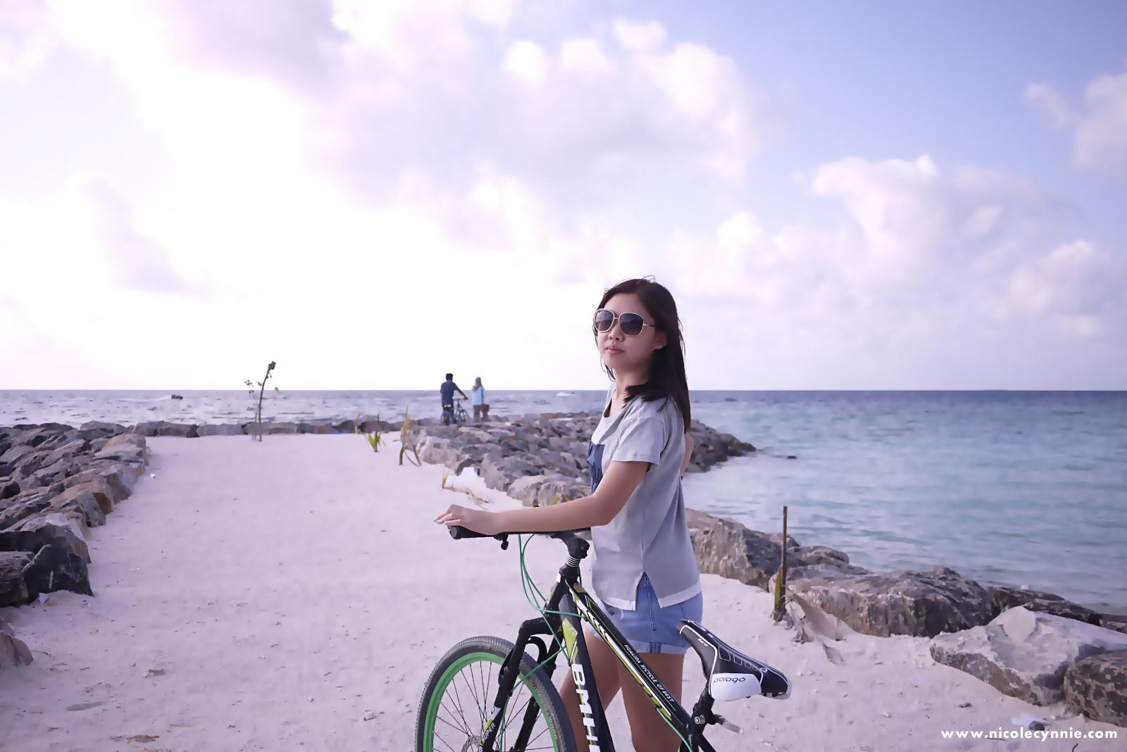 Cycling, Maafushi Island,