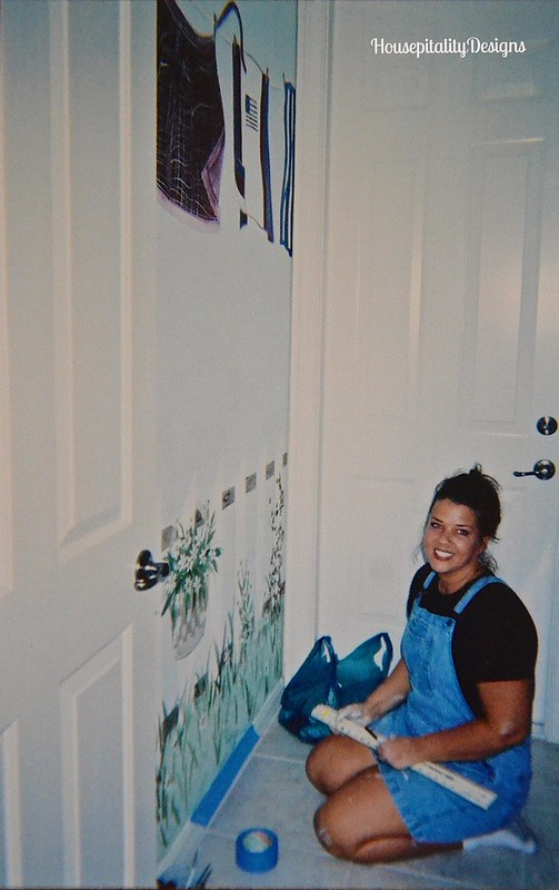 Laundry Room Mural - Housepitality Designs
