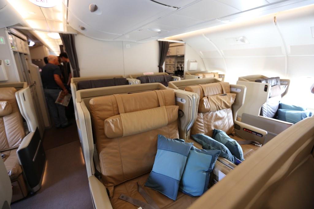 Singapore Business Class A380
