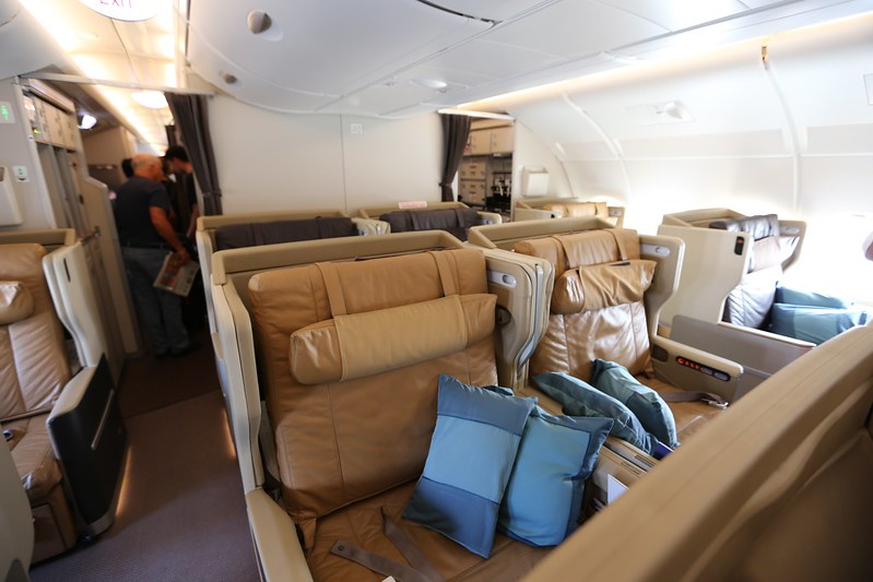 Singapore Business Class A380
