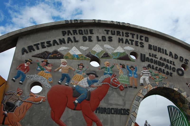 Parque Turístico Artesanal de los Mates Burilados, Cochas Chico, Huancayo, Junín, Peru
