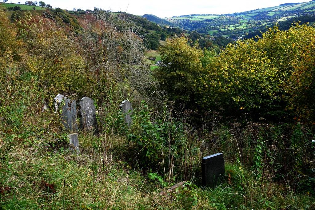 Landscape view, Glyn Ceiriog, Wales