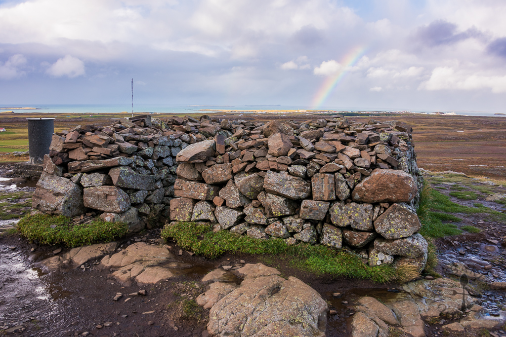stone structure at Helgafell