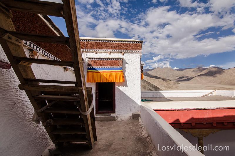valle del indo monasterio de Thiksey cerca de Leh