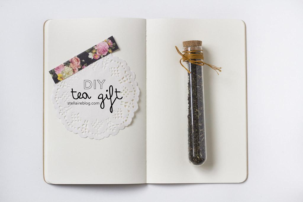 diy tea gift