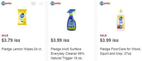 Pledge Product coupon