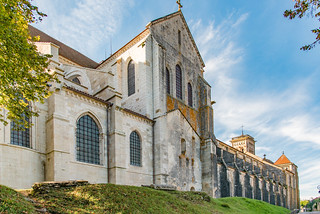 Langhaus und Querschiff Sainte-Marie-Madeleine, Vézelay