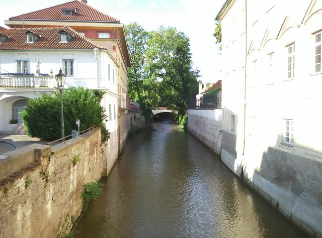 布拉格 愛情鎖及水車