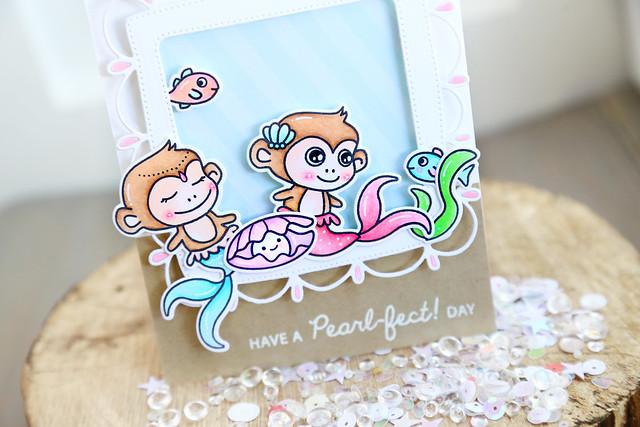 Little Mermaids {Waffle flower guesting}