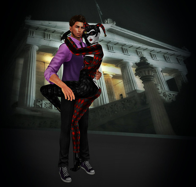 Joker's Heart- Something New -props n poses