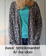 basic Strickmantel ki-ba-doo