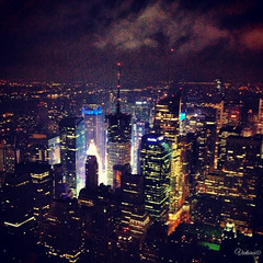 View from Empire State Building. New York. USA