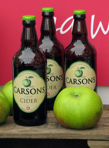 A Food Fair in Belfast Ireland with free Carsons Cider and more!