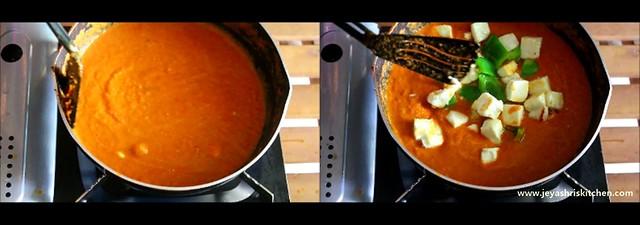 paneer butter masala 5