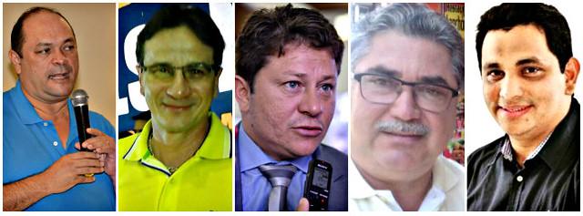 força tarefa - Von, Mauro, Ney, Otávio e Maduro