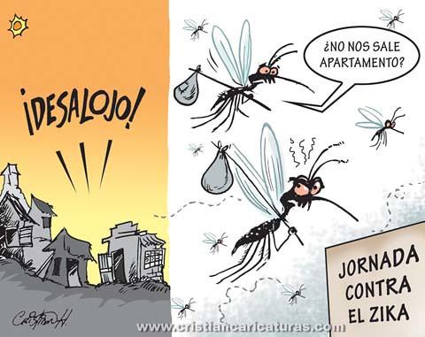 Desalojo Zika