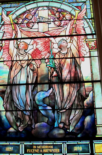 Tiffany Window View 4: Brewster Memorial Window