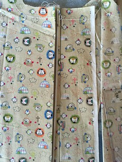setting a lap zip in a dress shirt button band