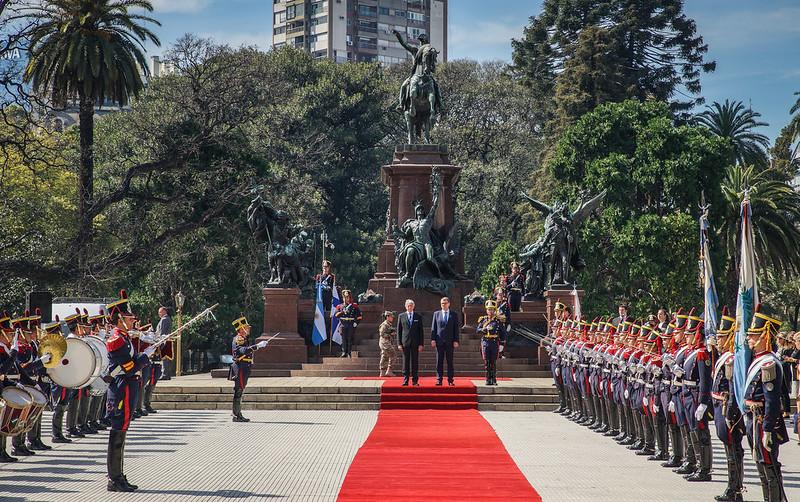 Finnish PM in Argentina