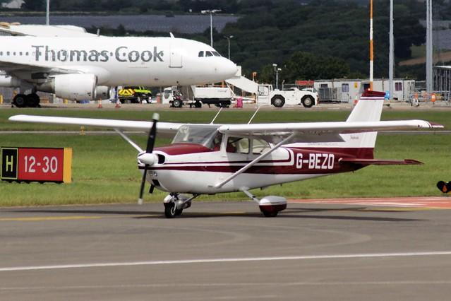 Reims Cessna F172M Skyhawk G-BEZO 30JUL16 - Gerallt Marsh