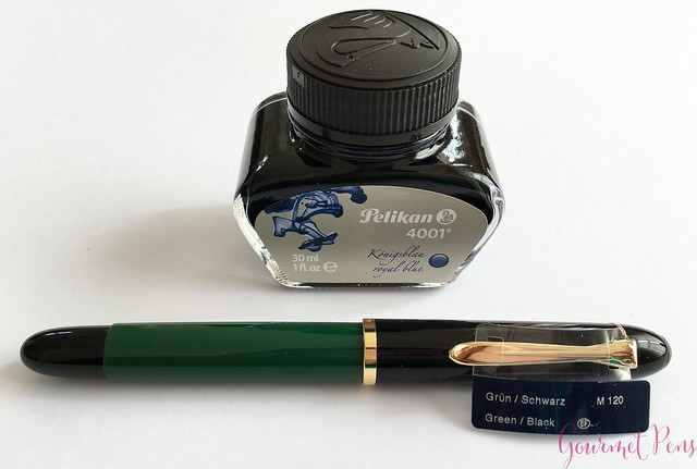 Review Pelikan M120 Green & Black Fountain Pen @couronneducomte 4