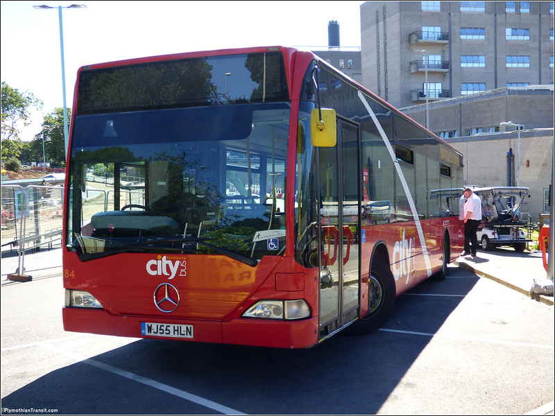 Plymouth Citybus 084 WJ55HLN