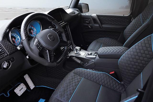 Салон Mercedes-Benz G500 4×4² от Mansory