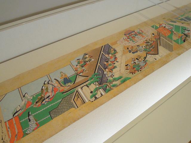 『竹取物語絵巻』
