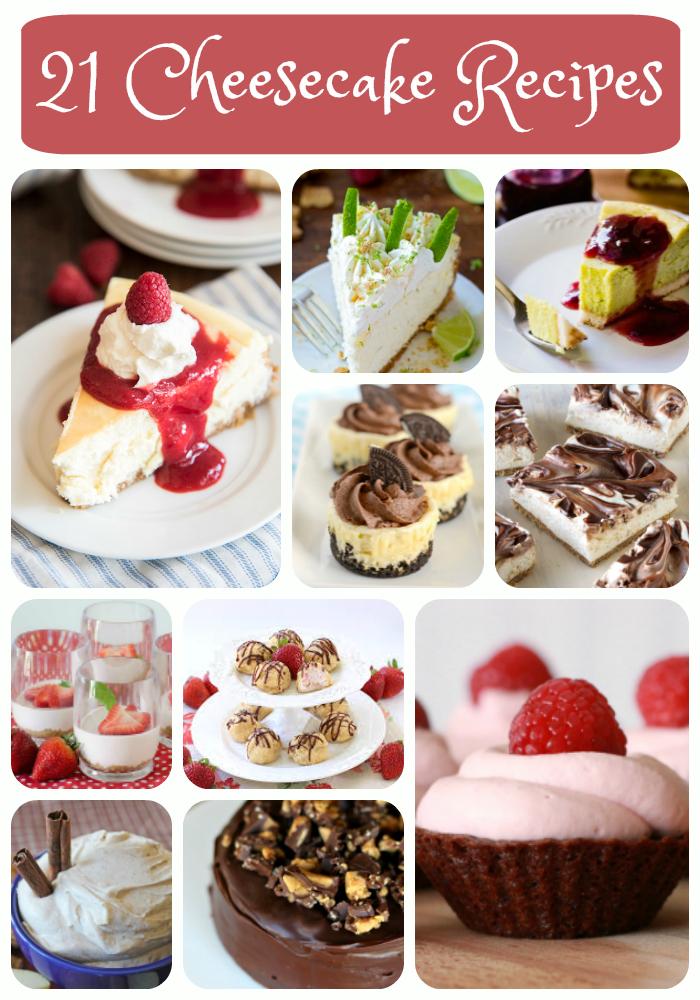 21 delicious cheesecake recipes