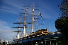 Музей-корабль «Катти Сарк». The Cutty Sark, Greenwich