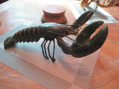 Dun lobster #pei #brackleybeach #dunesstudio #lobster #sculpture #latergram