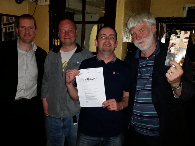 Dems Abroad Pub Quiz 2016