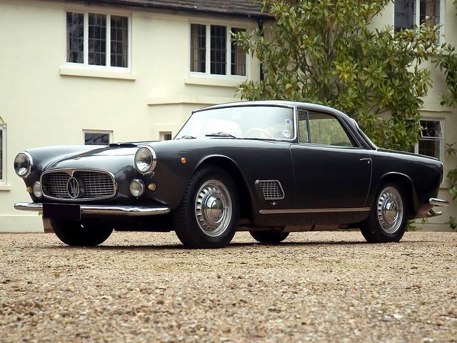 Maserati 3500 GT 1958–64 годов. Такой же был в гараже Ферруччо