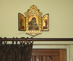 tryptich icon of the Mother of God Theotokos