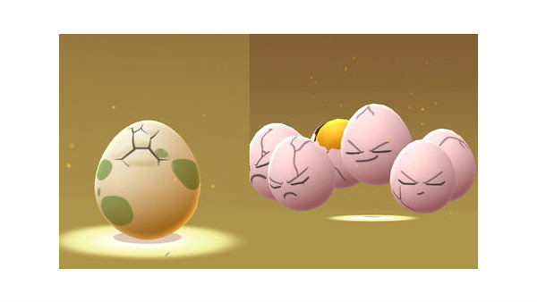 Pokemon Go: Eggs and Hatching