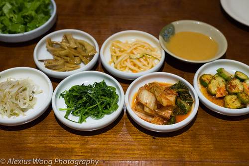 Korean Side Dishes Miso Soup