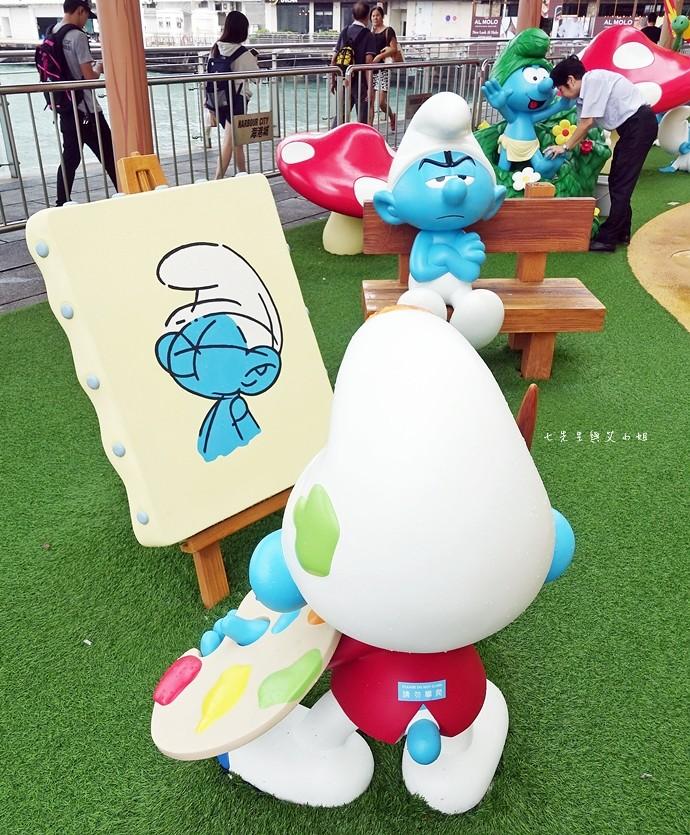 2 香港 海港城 Harbourcity 藍精靈 十分勁