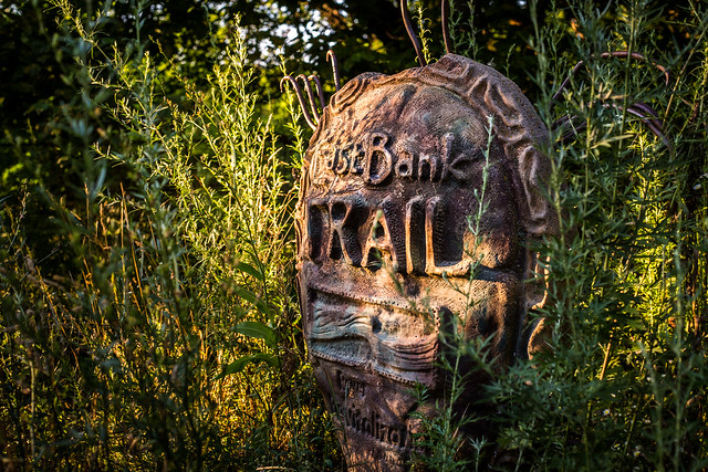 East Bank Trail Sign