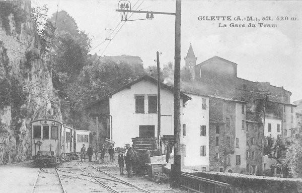 tramway à Gilette