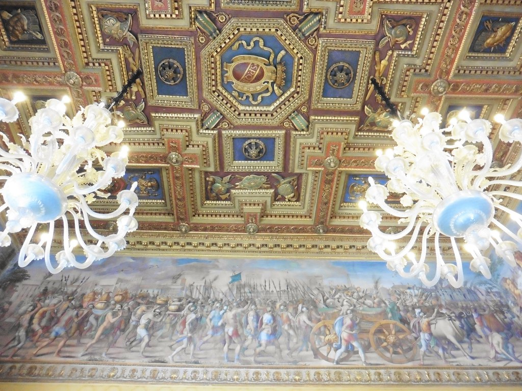 Ceiling Artwork Detail - Museo Capitolini
