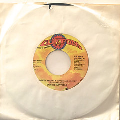 CURTIS MAYFIELD:MIGHTY MIGHTY(SPADE AND WHITEY)(JACKET A)