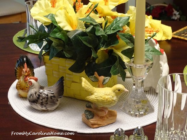 Sunny Yellow Summer Tablescape | From My Carolina Home